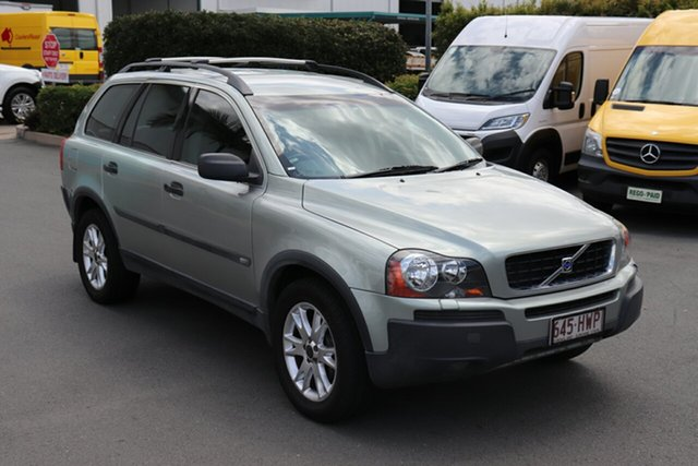 Used Volvo XC90 P28 MY04 T6, 2004 Volvo XC90 P28 MY04 T6 Green 4 Speed Sports Automatic Wagon