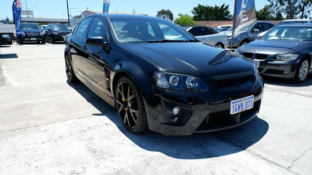 Used Holden Special Vehicles GTS E Series MY09 , 2008 Holden Special Vehicles GTS E Series MY09 Black 6 Speed Manual Sedan