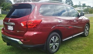 2017 Nissan Pathfinder R52 Series II MY17 ST X-tronic 2WD Cayenne Red 1 Speed Constant Variable