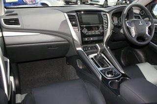 2018 Mitsubishi Pajero Sport QE MY19 Exceed Pitch Black 8 Speed Sports Automatic Wagon
