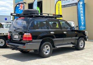 2000 Toyota Landcruiser FZJ105R GXL Black 4 Speed Automatic Wagon