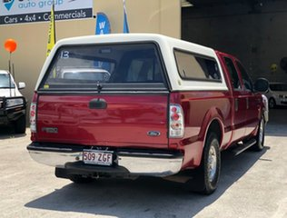 2003 Ford F250 XLT 4x2 Maroon 4 Speed Automatic Utility.