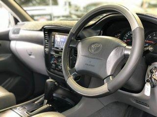 2000 Toyota Landcruiser FZJ105R GXL Black 4 Speed Automatic Wagon.
