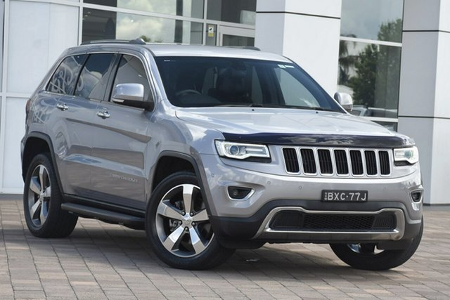 Used Jeep Grand Cherokee WK MY15 Limited, 2015 Jeep Grand Cherokee WK MY15 Limited Silver 8 Speed Sports Automatic SUV