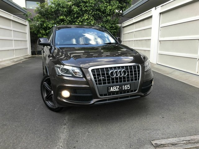 Used Audi Q5 8R MY12 TDI S Tronic Quattro, 2011 Audi Q5 8R MY12 TDI S Tronic Quattro Brown 7 Speed Sports Automatic Dual Clutch Wagon