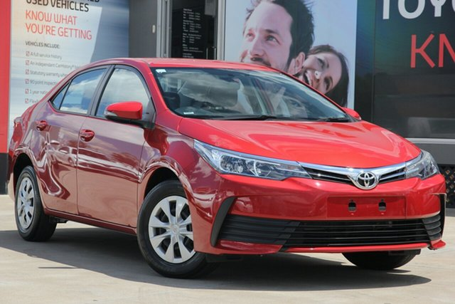 Used Toyota Corolla ZRE172R Ascent S-CVT, 2018 Toyota Corolla ZRE172R Ascent S-CVT Wildfire 7 Speed Constant Variable Sedan