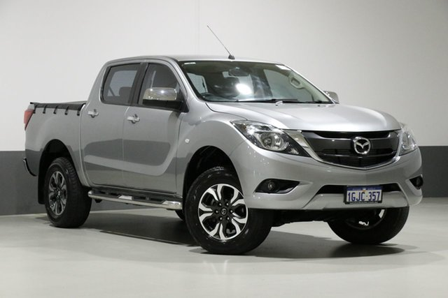 Used Mazda BT-50 MY17 Update XTR (4x4), 2017 Mazda BT-50 MY17 Update XTR (4x4) Silver 6 Speed Automatic Dual Cab Utility