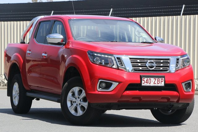Demo Nissan Navara D23 S4 MY19 ST, 2019 Nissan Navara D23 S4 MY19 ST Burning Red 7 Speed Sports Automatic Utility