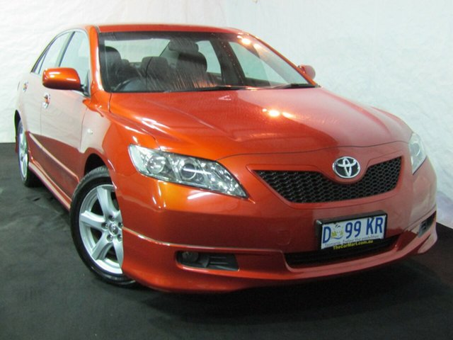 Used Toyota Camry ACV40R Sportivo, 2007 Toyota Camry ACV40R Sportivo Orange 5 Speed Automatic Sedan