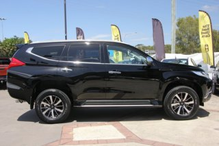 2018 Mitsubishi Pajero Sport QE MY19 Exceed Pitch Black 8 Speed Sports Automatic Wagon