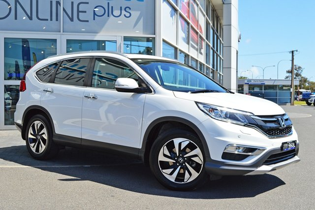 Used Honda CR-V RM Series II MY16 VTi-L, 2015 Honda CR-V RM Series II MY16 VTi-L White 5 Speed Sports Automatic Wagon