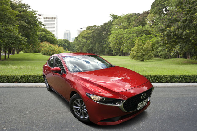 Demo Mazda 3 BP2H7A G20 SKYACTIV-Drive Pure, 2019 Mazda 3 BP2H7A G20 SKYACTIV-Drive Pure Soul Red 6 Speed Sports Automatic Hatchback