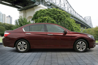 2013 Honda Accord 9th Gen MY13 VTi Red 5 Speed Sports Automatic Sedan.