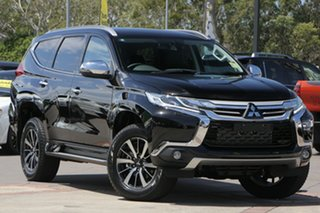 2018 Mitsubishi Pajero Sport QE MY19 Exceed Pitch Black 8 Speed Sports Automatic Wagon.