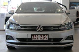 2019 Volkswagen Polo AW MY19 70TSI DSG Trendline Reflex Silver 7 Speed Sports Automatic Dual Clutch.