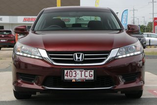 2013 Honda Accord 9th Gen MY13 VTi Red 5 Speed Sports Automatic Sedan