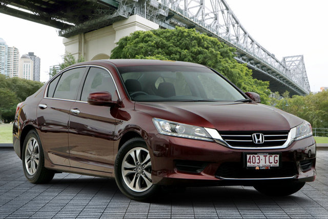 Used Honda Accord 9th Gen MY13 VTi, 2013 Honda Accord 9th Gen MY13 VTi Red 5 Speed Sports Automatic Sedan