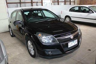 2006 Holden Astra AH MY06.5 CDTi Black 6 Speed Manual Hatchback.