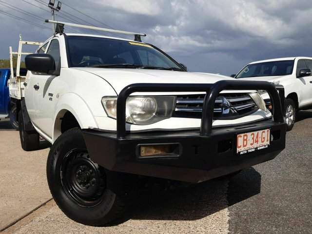 Used Mitsubishi Triton  , 2011 Mitsubishi Triton White 5 Speed Manual Dual Cab