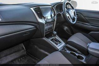 2019 Mitsubishi Triton MR MY19 GLX+ Double Cab White 6 Speed Sports Automatic Utility