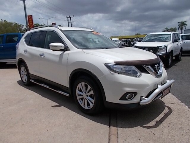 Used Nissan X-Trail T32 ST-L X-tronic 4WD N-TREK, 2015 Nissan X-Trail T32 ST-L X-tronic 4WD N-TREK White 7 Speed Constant Variable Wagon
