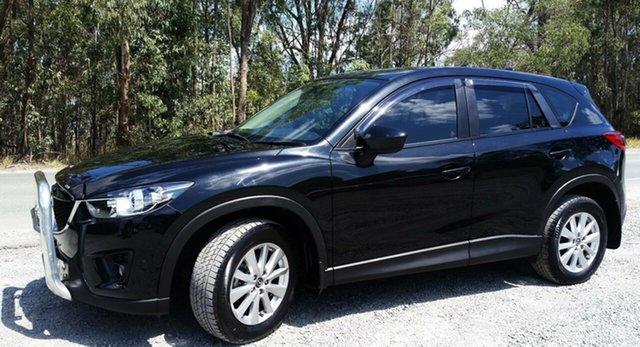 Used Mazda CX-5 KE1021 MY14 Akera SKYACTIV-Drive AWD, 2014 Mazda CX-5 KE1021 MY14 Akera SKYACTIV-Drive AWD Black 6 Speed Sports Automatic Wagon