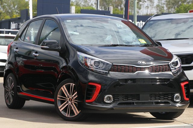 Used Kia Picanto JA MY19 GT, 2019 Kia Picanto JA MY19 GT Aurora Black 5 Speed Manual Hatchback