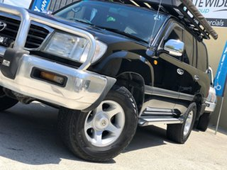 2000 Toyota Landcruiser FZJ105R GXL Black 4 Speed Automatic Wagon