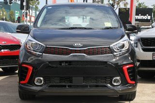 2019 Kia Picanto JA MY19 GT Aurora Black 5 Speed Manual Hatchback.