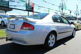 2006 Ford Falcon BF SR Silver 4 Speed Sports Automatic Sedan.