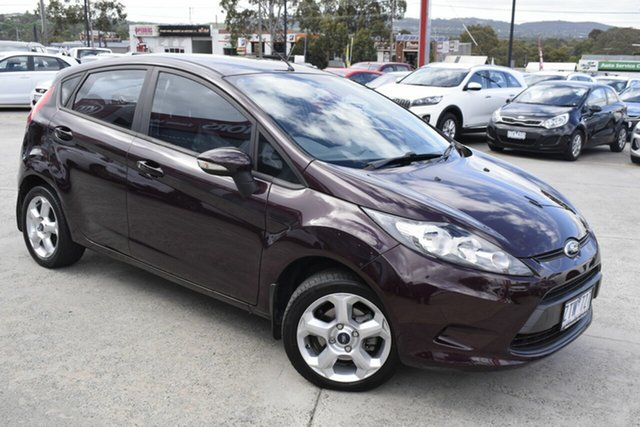 Used Ford Fiesta WS LX, 2009 Ford Fiesta WS LX Purple 4 Speed Automatic Hatchback