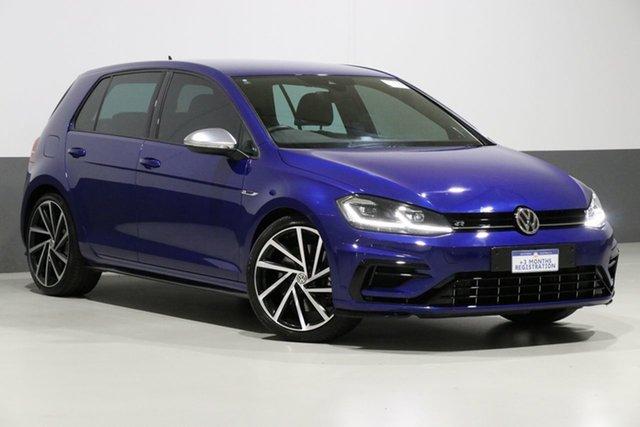 Used Volkswagen Golf AU MY18 R, 2018 Volkswagen Golf AU MY18 R Blue 7 Speed Auto Direct Shift Hatchback