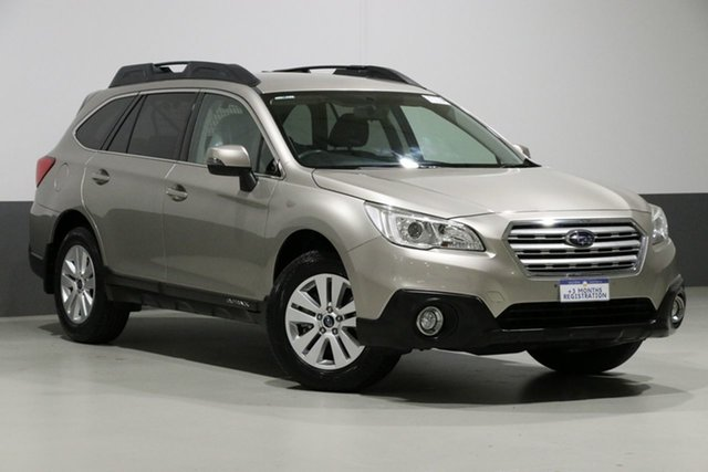 Used Subaru Outback MY15 2.0D, 2015 Subaru Outback MY15 2.0D Bronze Continuous Variable Wagon