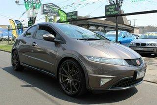 2011 Honda Civic 8th Gen MY11 SI Bronze 6 Speed Manual Hatchback.