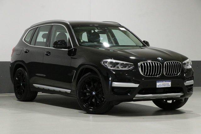 Used BMW X3 G01 MY18.5 xDrive 30I, 2018 BMW X3 G01 MY18.5 xDrive 30I Black 8 Speed Automatic Wagon