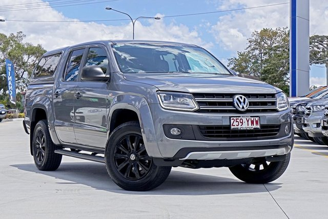 Used Volkswagen Amarok 2H MY15 TDI420 4MOTION Perm Dark Label, 2014 Volkswagen Amarok 2H MY15 TDI420 4MOTION Perm Dark Label Natural Grey 8 Speed Automatic Utility