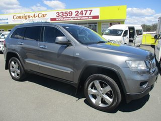 2012 Jeep Grand Cherokee WK MY2013 Overland Silver 6 Speed Sports Automatic Wagon.