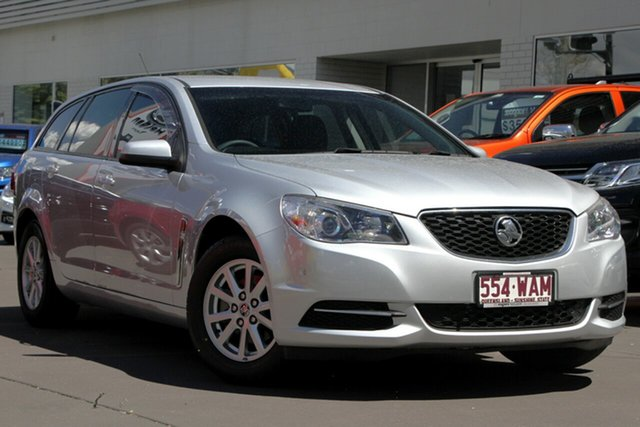 Used Holden Commodore VF MY15 Evoke Sportwagon, 2015 Holden Commodore VF MY15 Evoke Sportwagon Silver 6 Speed Sports Automatic Wagon