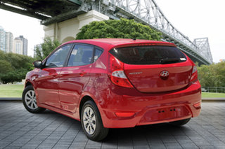 2016 Hyundai Accent RB3 MY16 Active Red 6 Speed Constant Variable Hatchback.