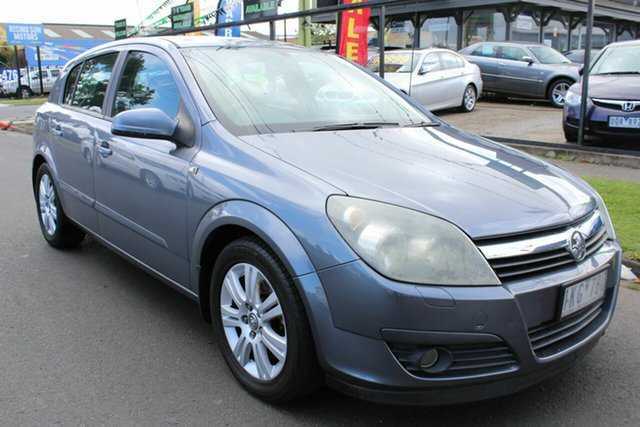 Used Holden Astra AH MY06.5 CDTi West Footscray, 2006 Holden Astra AH MY06.5 CDTi Grey 6 Speed Manual Hatchback
