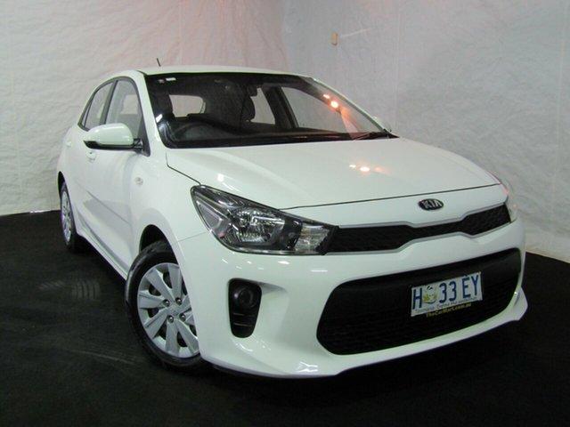 Used Kia Rio YB MY17 S, 2017 Kia Rio YB MY17 S White 4 Speed Sports Automatic Hatchback