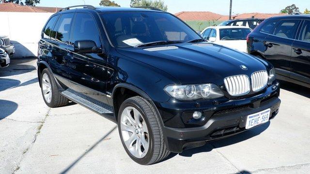 Used BMW X5 E53 MY05 is Steptronic, 2006 BMW X5 E53 MY05 is Steptronic Black 6 Speed Sports Automatic Wagon