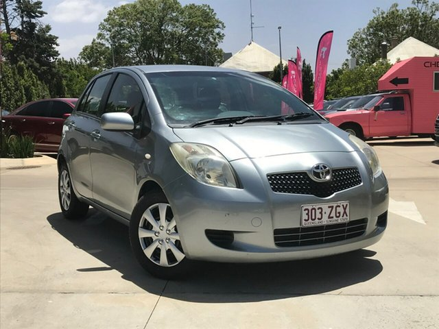 Used Toyota Yaris NCP91R YRS, 2006 Toyota Yaris NCP91R YRS Silver 4 Speed Automatic Hatchback