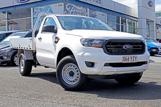 Used Ford Ranger PX MkIII 2019.00MY XL, 2019 Ford Ranger PX MkIII 2019.00MY XL White 6 Speed Sports Automatic Cab Chassis