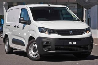 2019 Peugeot Partner K9 MY19 92 Low Roof LWB HDi Bianca White 5 Speed Manual Van.