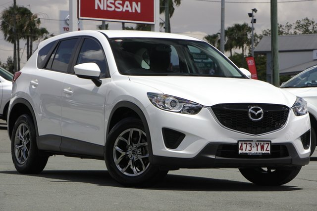 Used Mazda CX-5 KE1032 Maxx SKYACTIV-Drive AWD, 2015 Mazda CX-5 KE1032 Maxx SKYACTIV-Drive AWD White 6 Speed Sports Automatic Wagon
