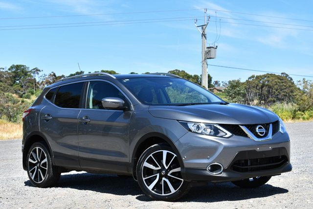 Used Nissan Qashqai J11 TI, 2015 Nissan Qashqai J11 TI Grey 1 Speed Constant Variable Wagon