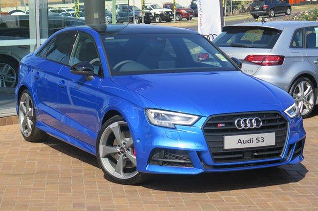 New Audi S3 8V MY19 S Tronic Quattro, 2019 Audi S3 8V MY19 S Tronic Quattro 7 Speed Sports Automatic Dual Clutch Sedan