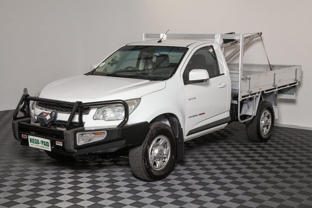 Used Holden Colorado RG MY13 LX, 2013 Holden Colorado RG MY13 LX White 6 speed Automatic Cab Chassis