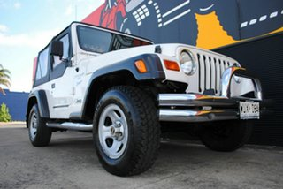 1997 Jeep Wrangler TJ Sport Pure White 5 Speed Manual Softtop